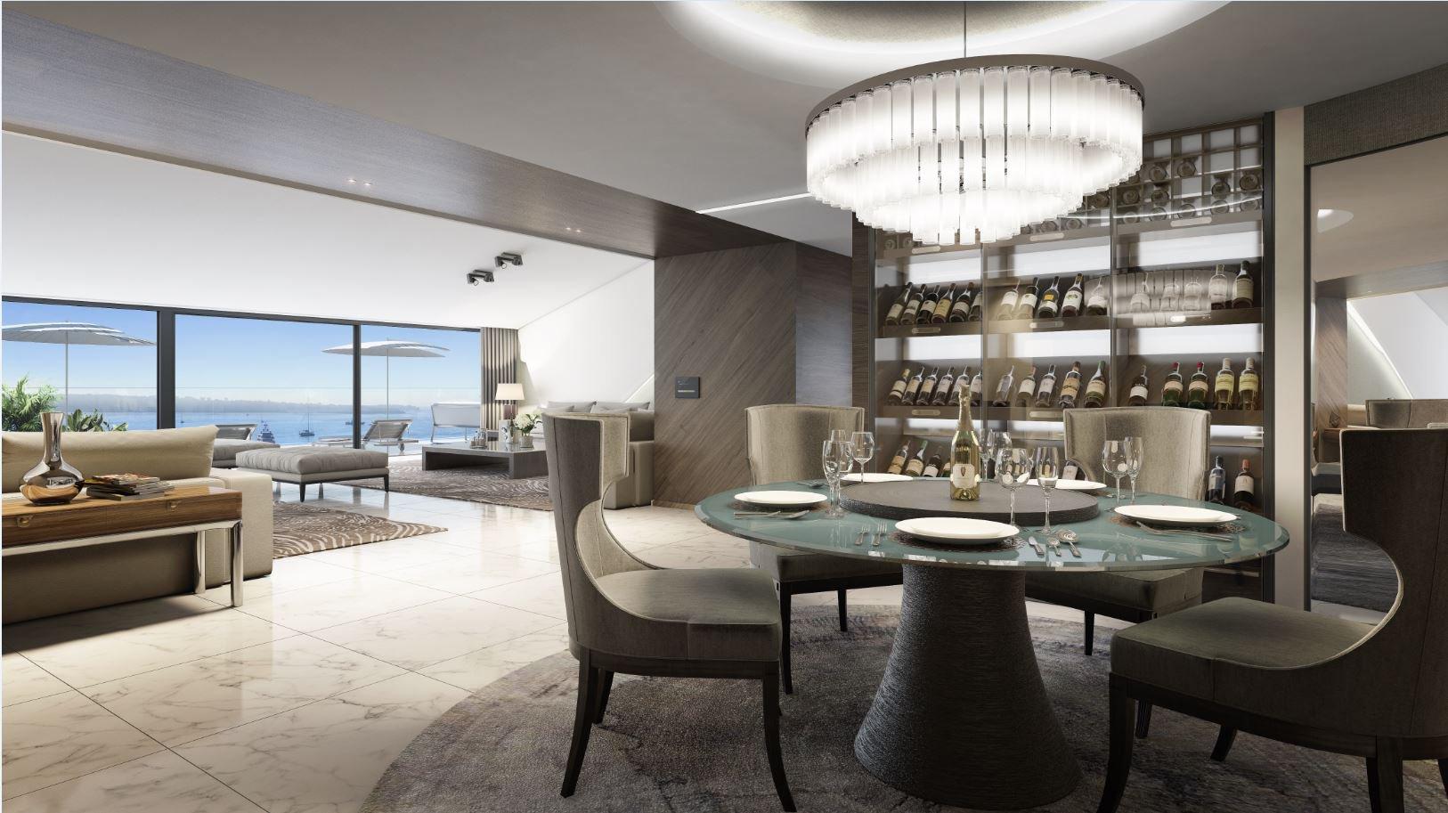Cannes Croisette 5 pièces magnifique vue mer