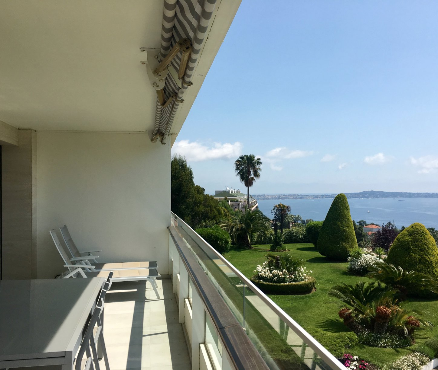 Cannes Californie 4P renovated panoramic sea view