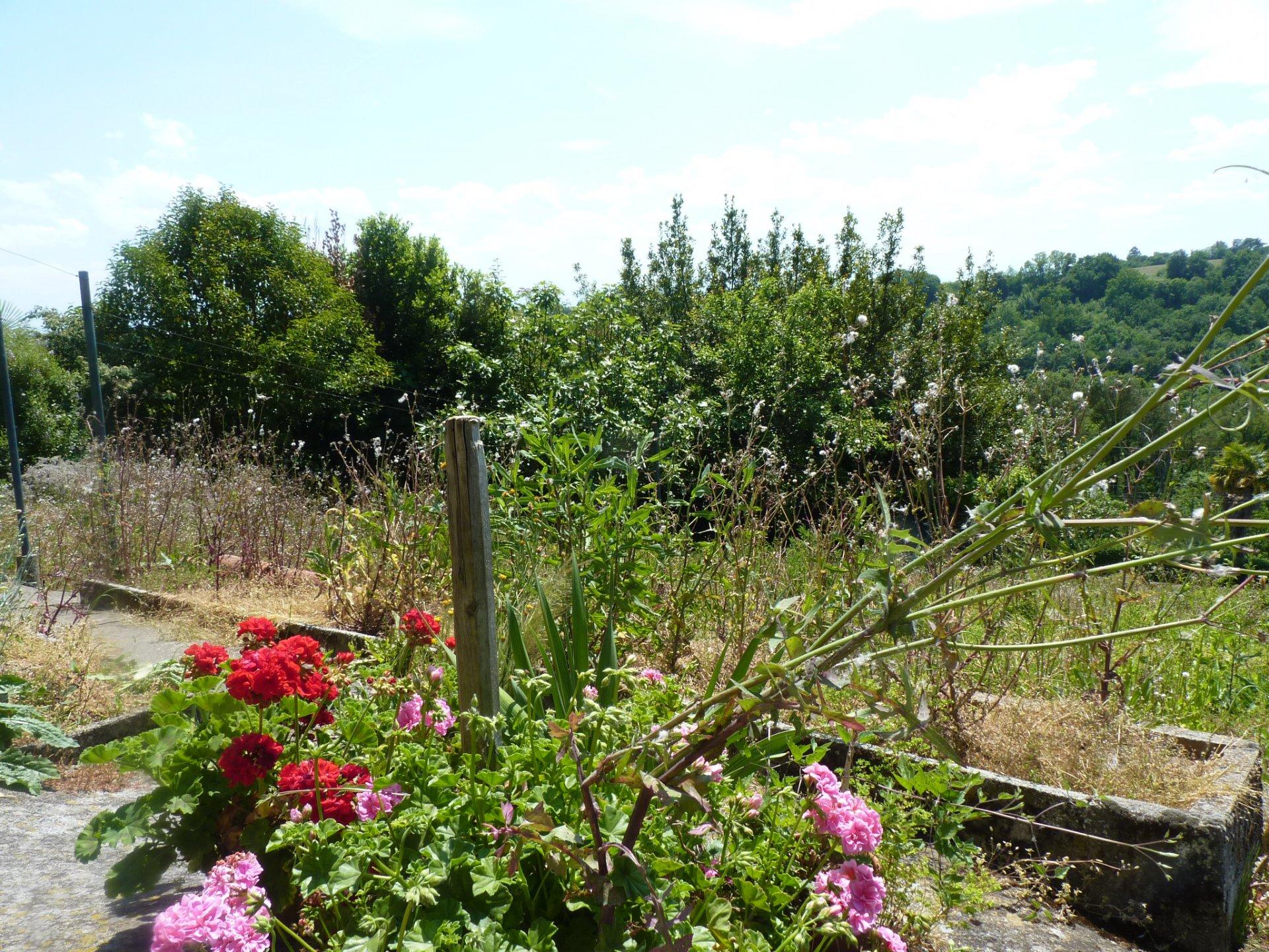 Maison de village T3 avec jardin et vue Pyrénées