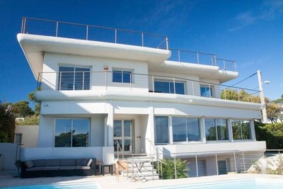 Modern Villa with Panoramique Seaview - Cap d'Antibes