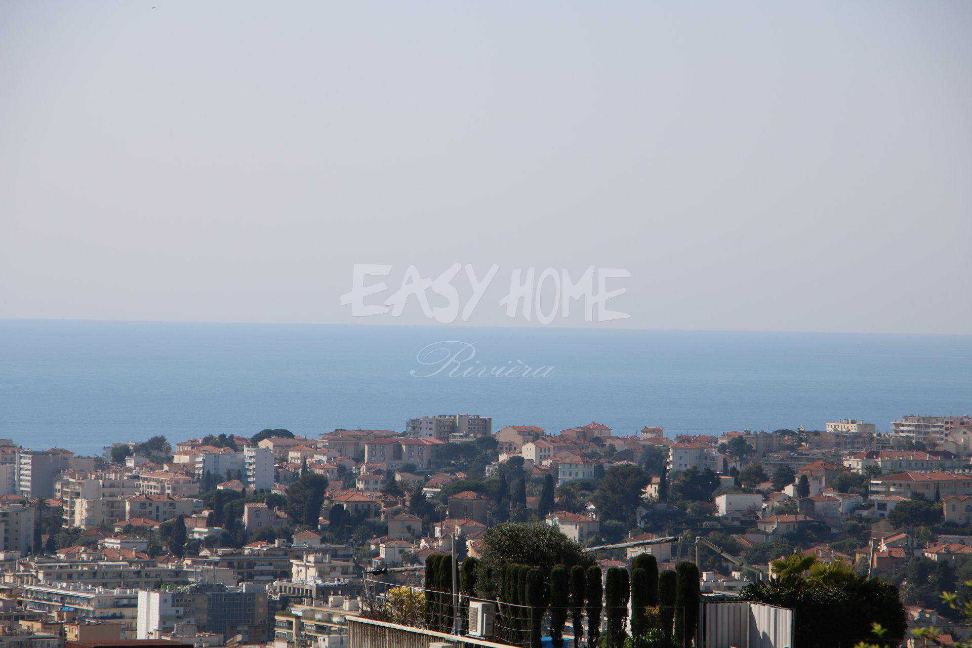 Purchase/Sale Plot of land Le Cannet with sea view