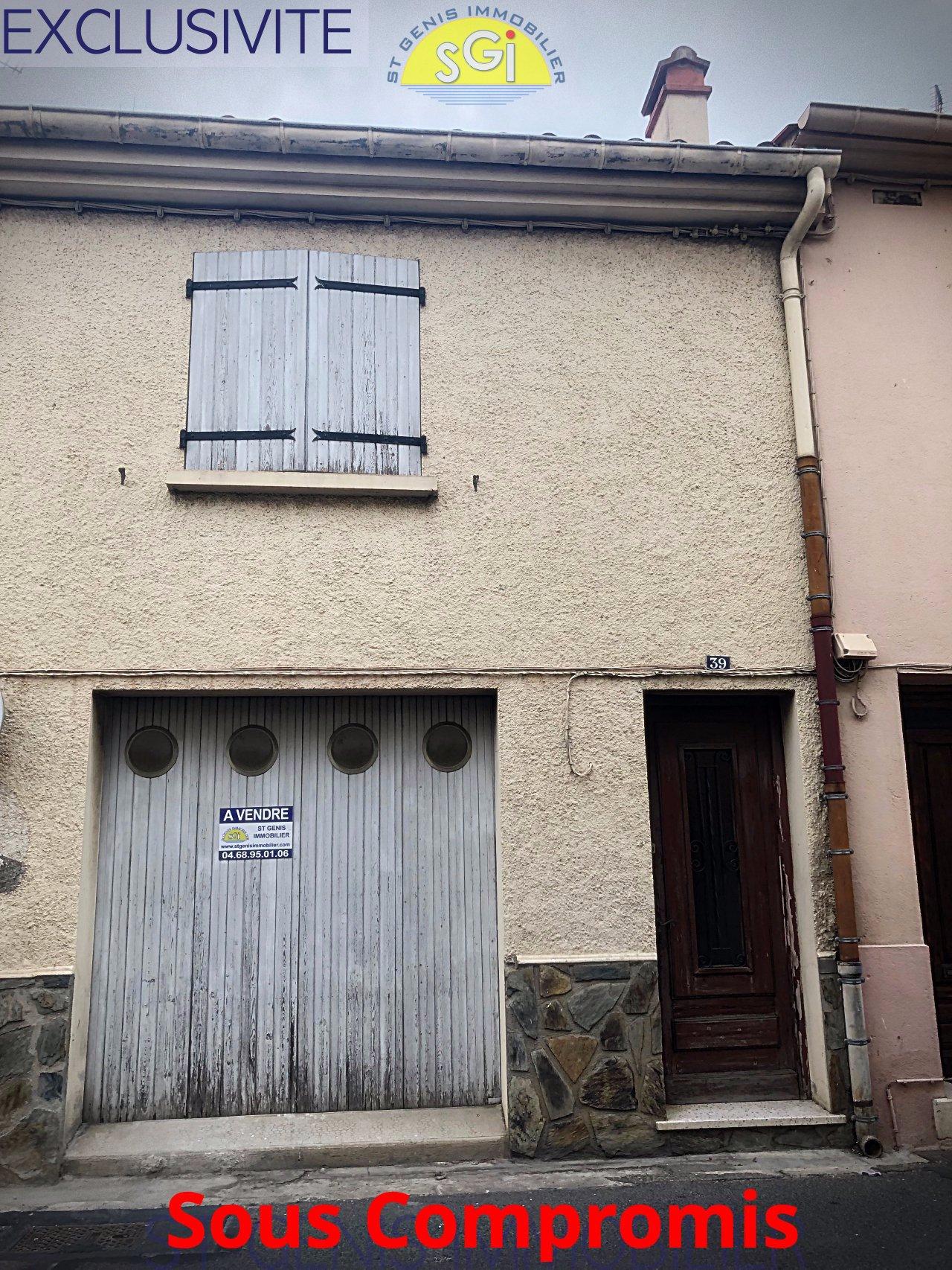Garage R+1 dans le centre de Saint-génis-des-fontaines