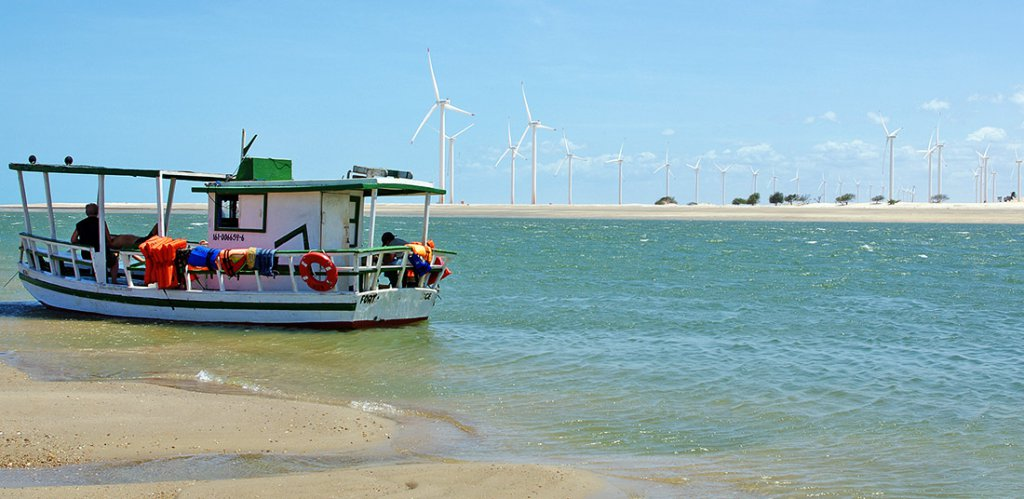 Projet residentiel et touristique à la rencontre de l'océan atlantique avec la rivière Jaguaribe