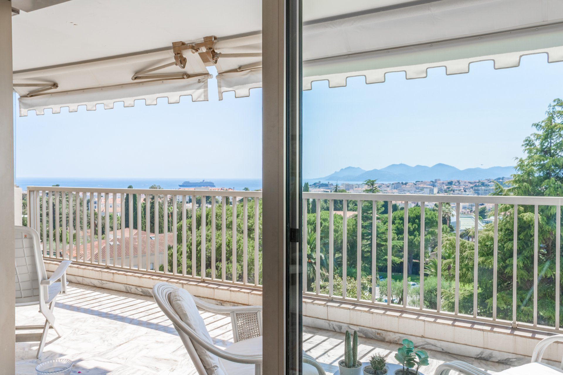 Cannes Oxford T4 105m² Terrasse Parking