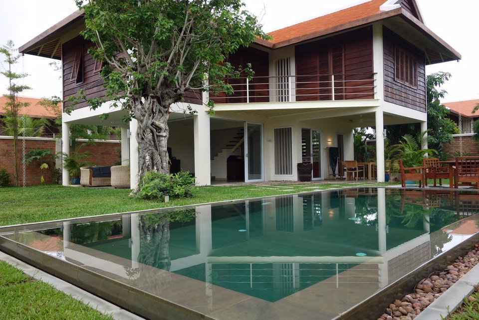3 bedrooms modern villa with Swimming Pool for Rent ID:117