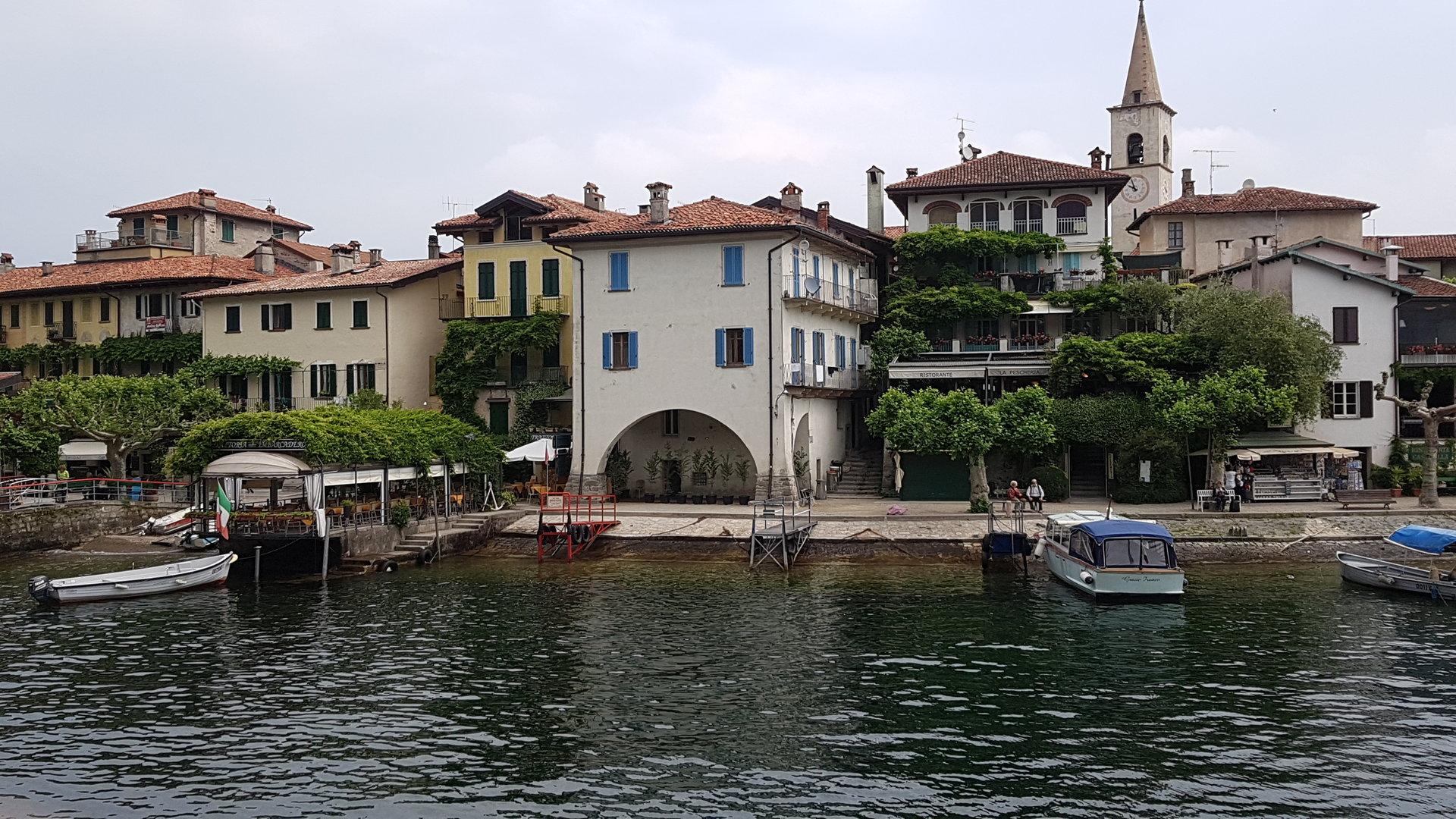 Apartment for sale in Pescatori Island, Stresa - view