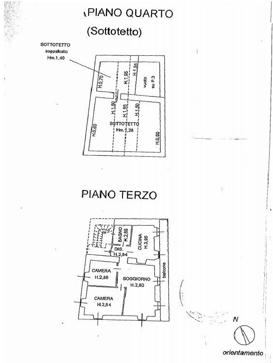 Apartment for sale in Pescatori Island, Stresa - floor plan