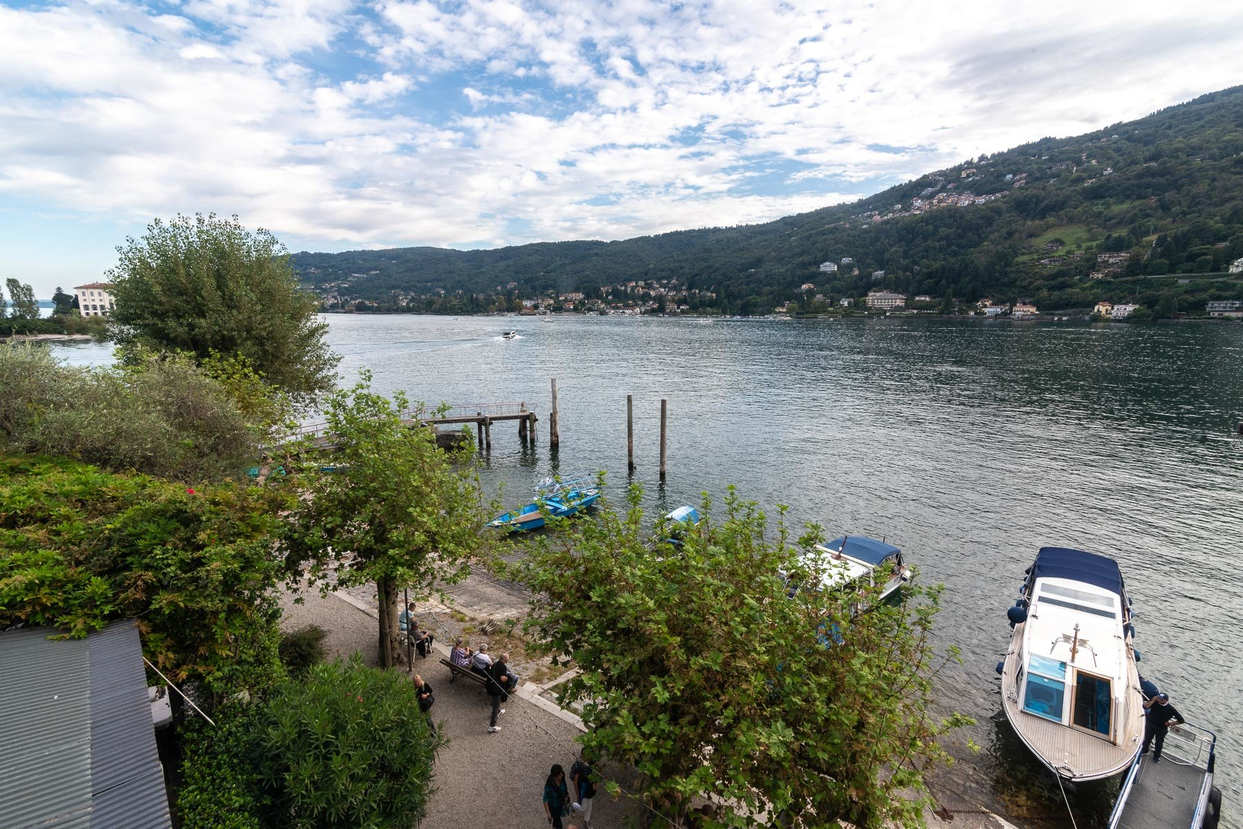 Appartamento in vendita sull'Isola Pescatori, Stresa-vista dall'immobile