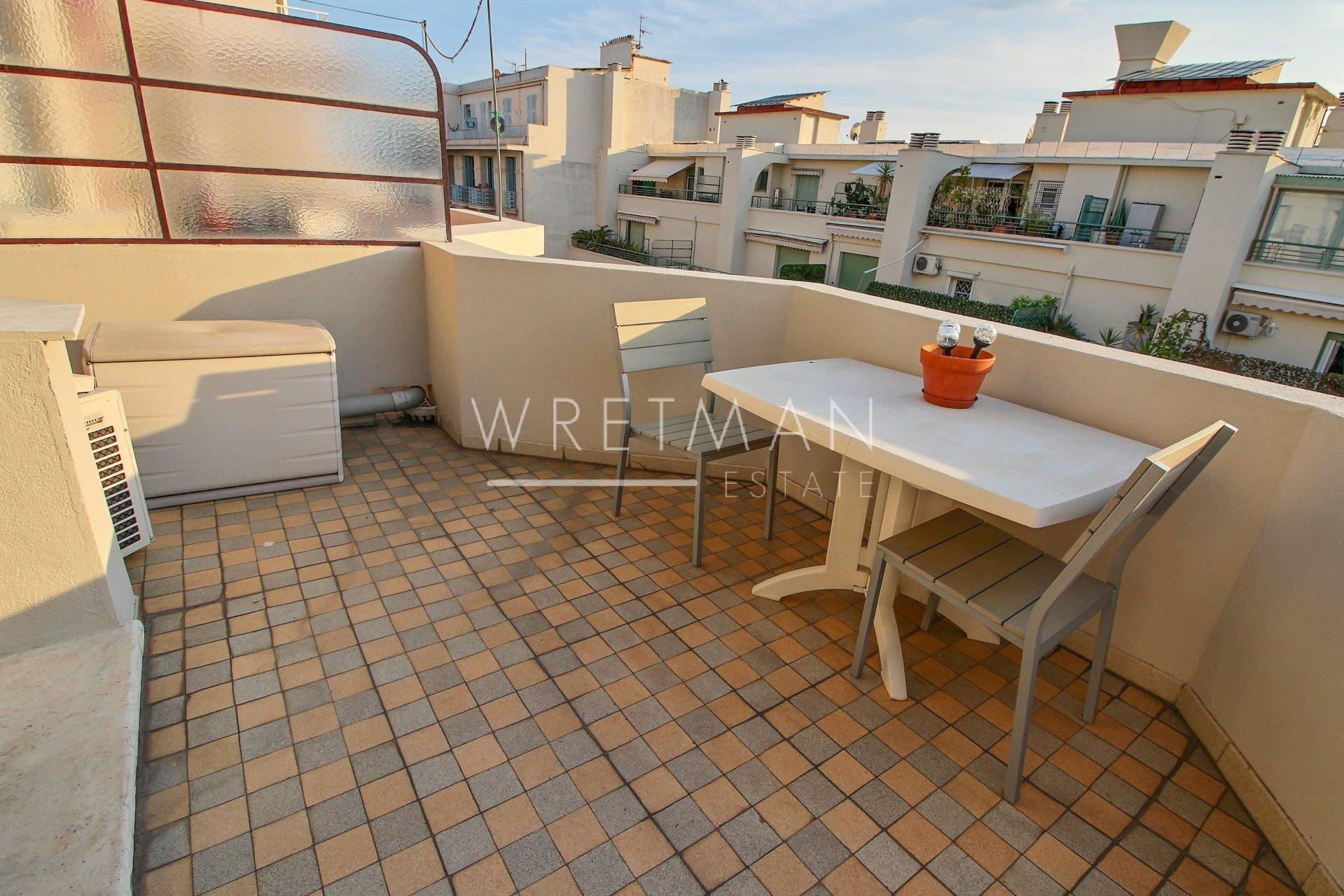 Modern studio with big terrasse - Nice Carré d'Or