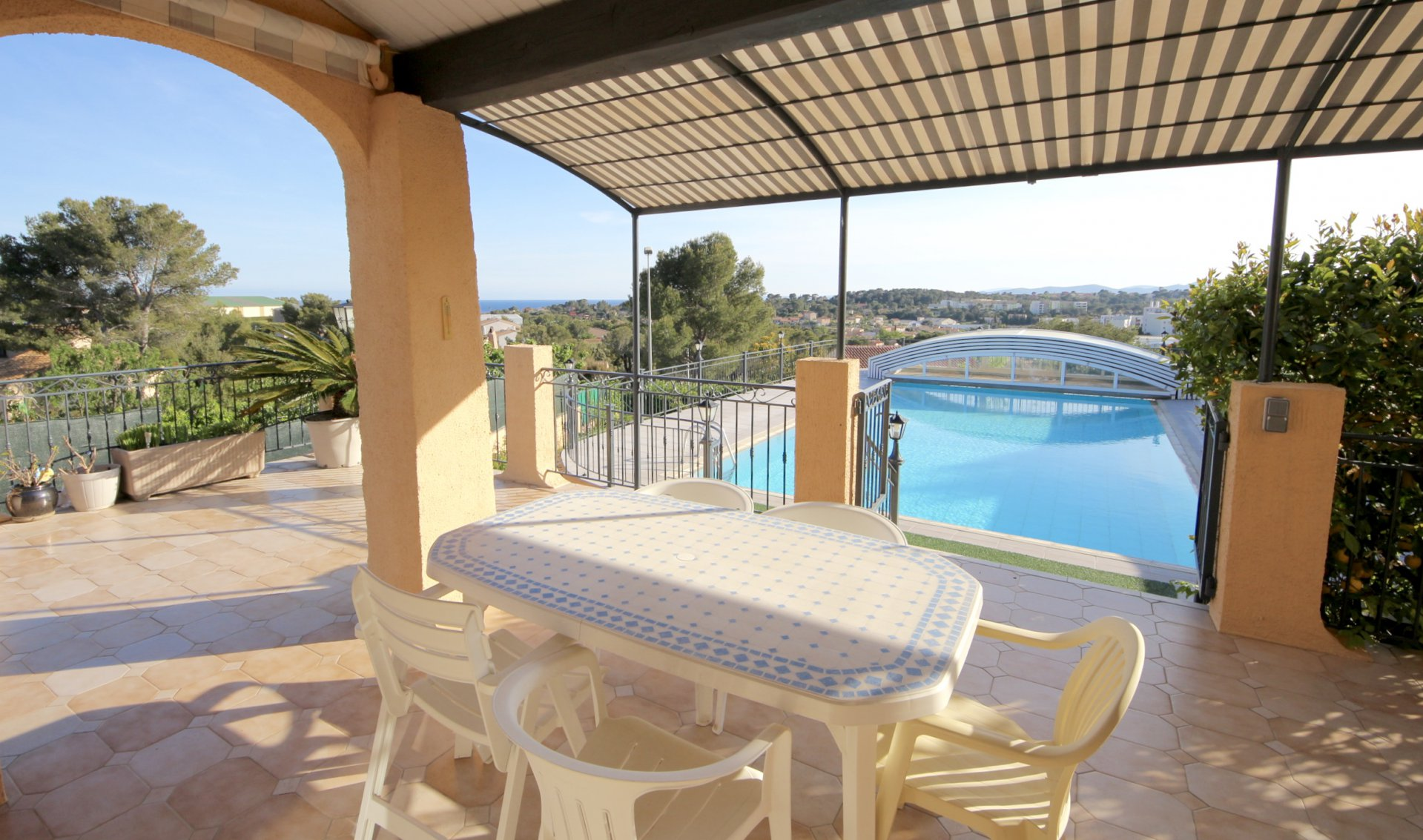 Saint Raphaël, nice villa with gorgeous view to the sea