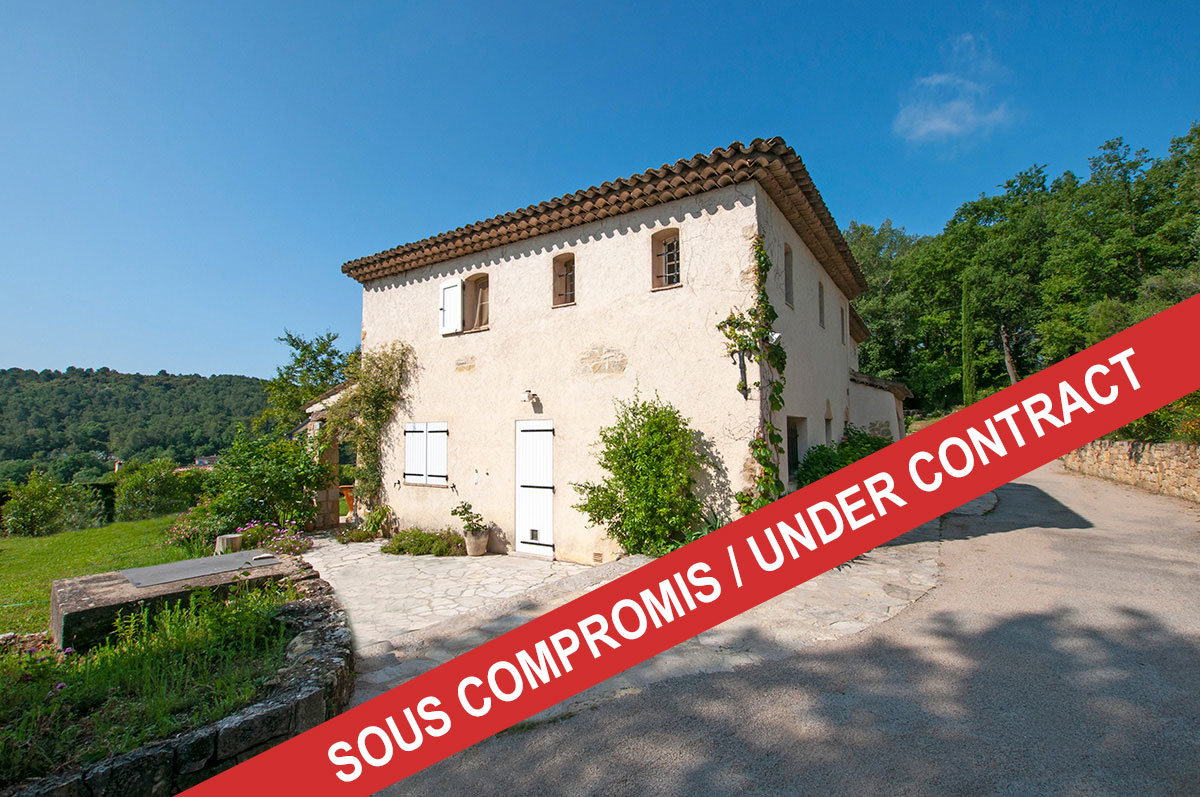 For Sale near Valbonne - 3 bed with Apartment