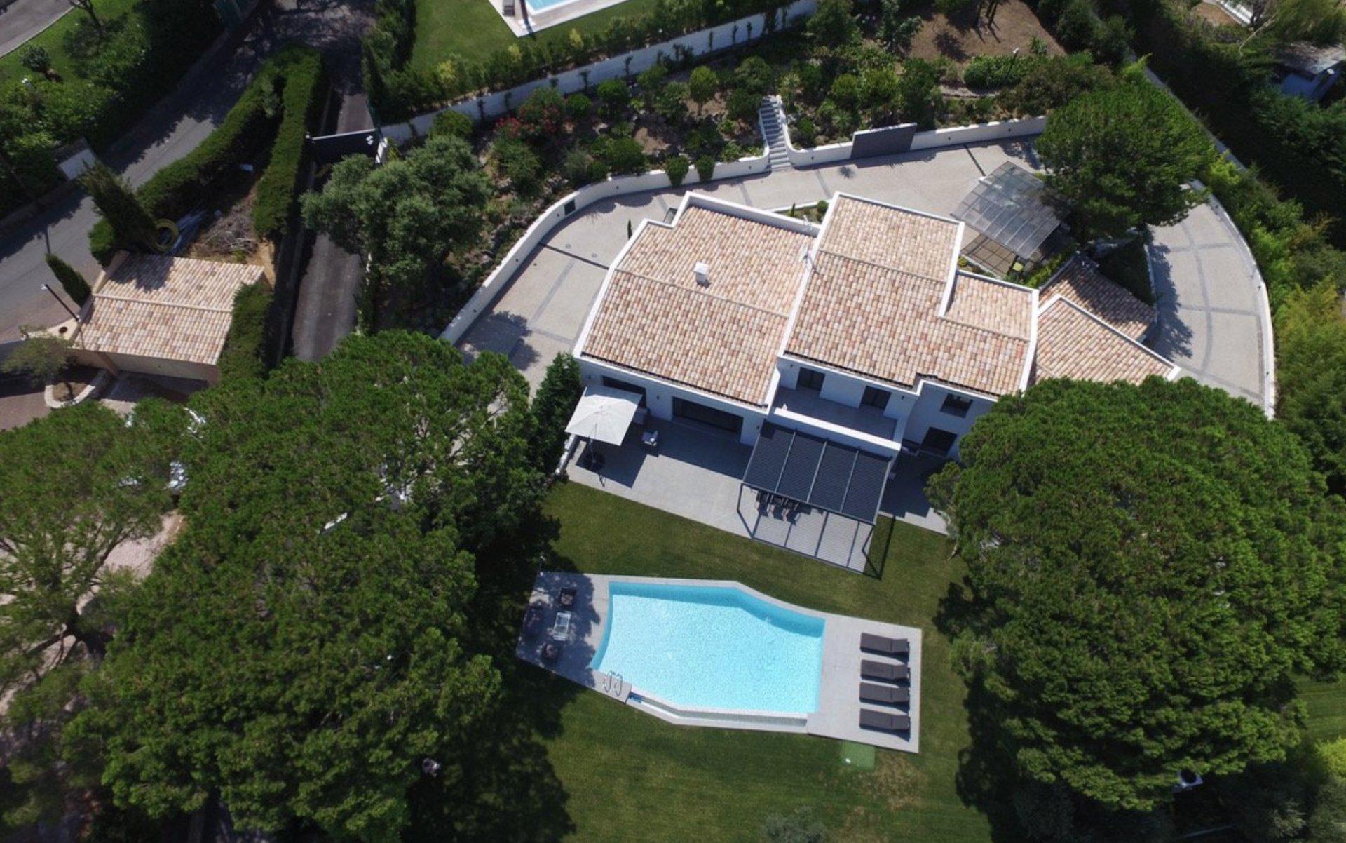 Super Cannes Contemporary Villa 424 sqm Swimming pool