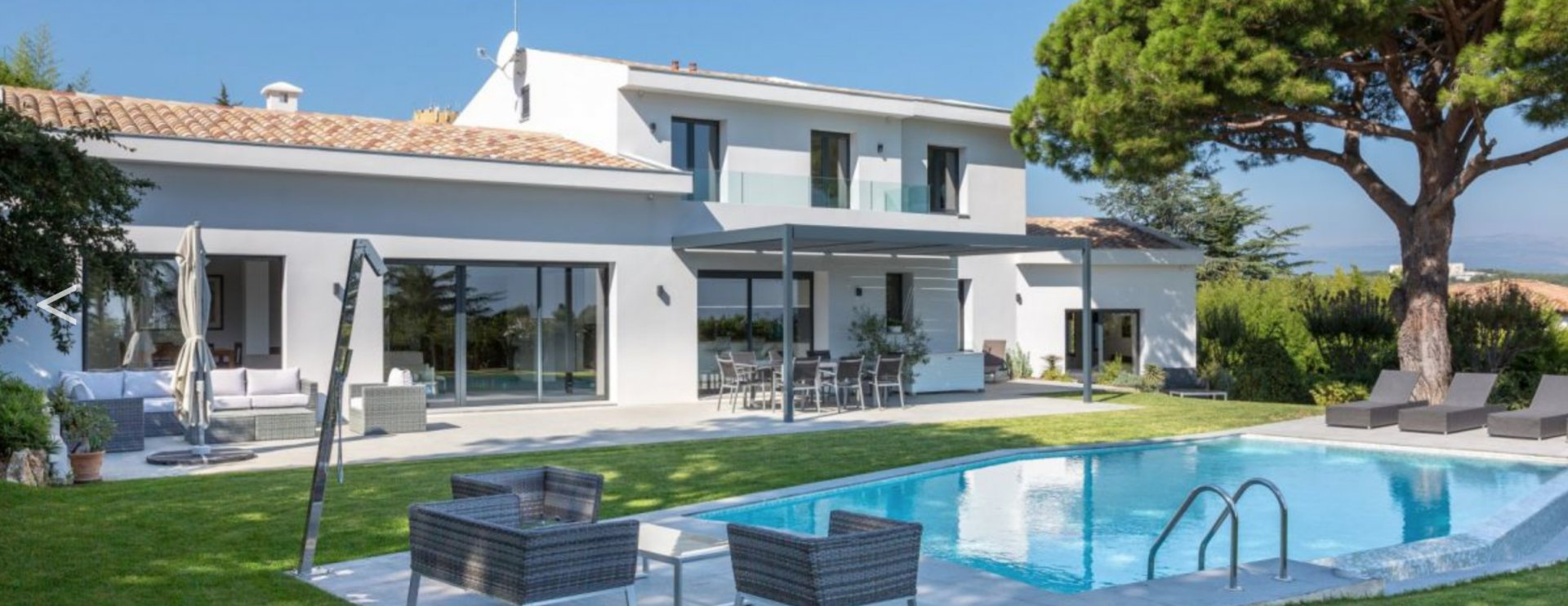 Super Cannes villa contemporaine 10 p / piscine