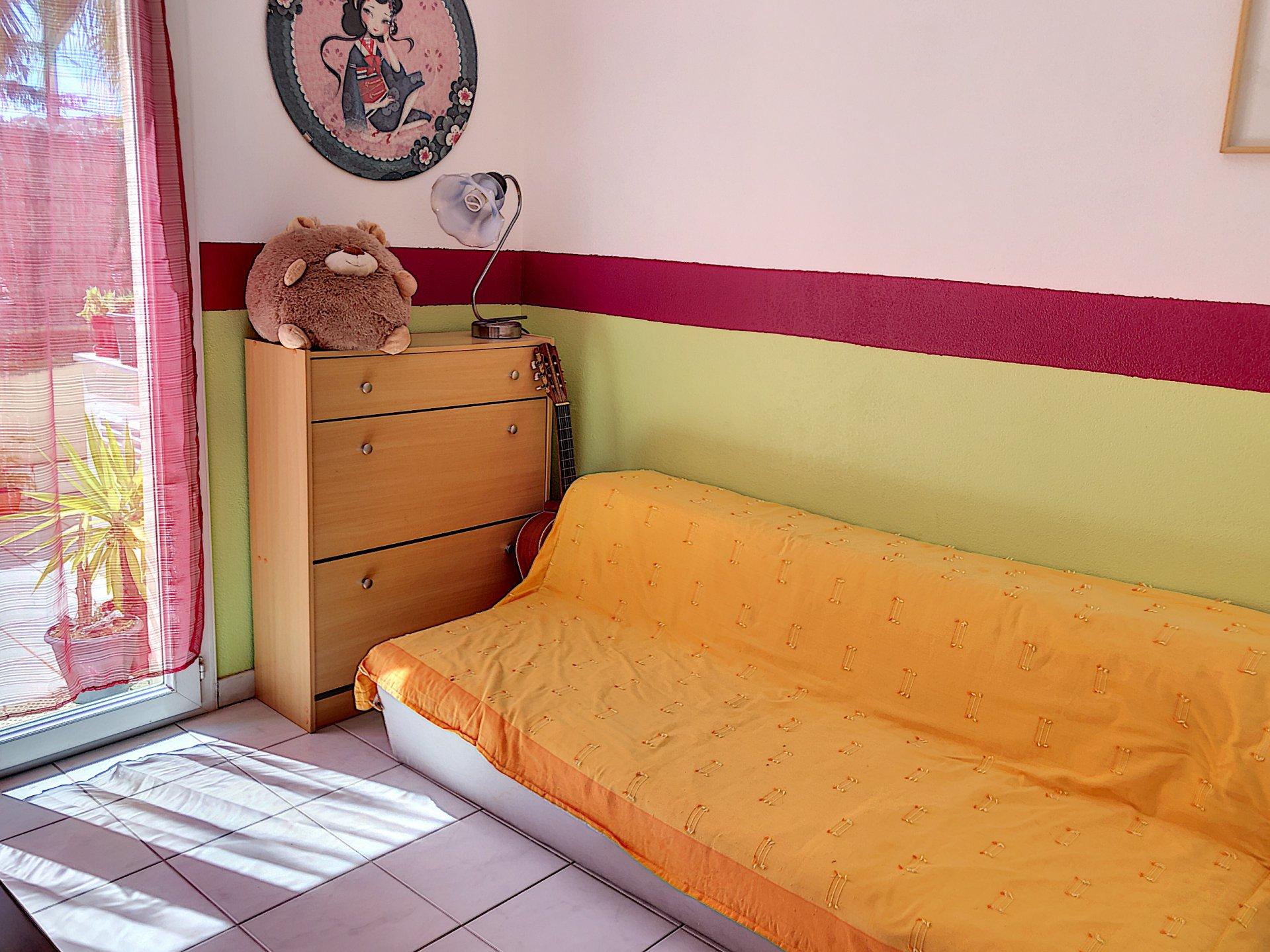 Cagnes sur Mer (06800) - Appartement 3 pièces - rez-de-terrasse