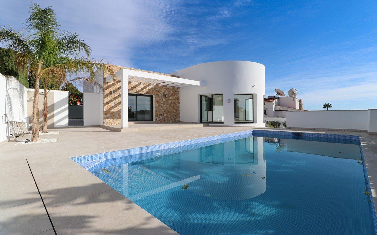 Modern design villa for sale in Benissa Costa