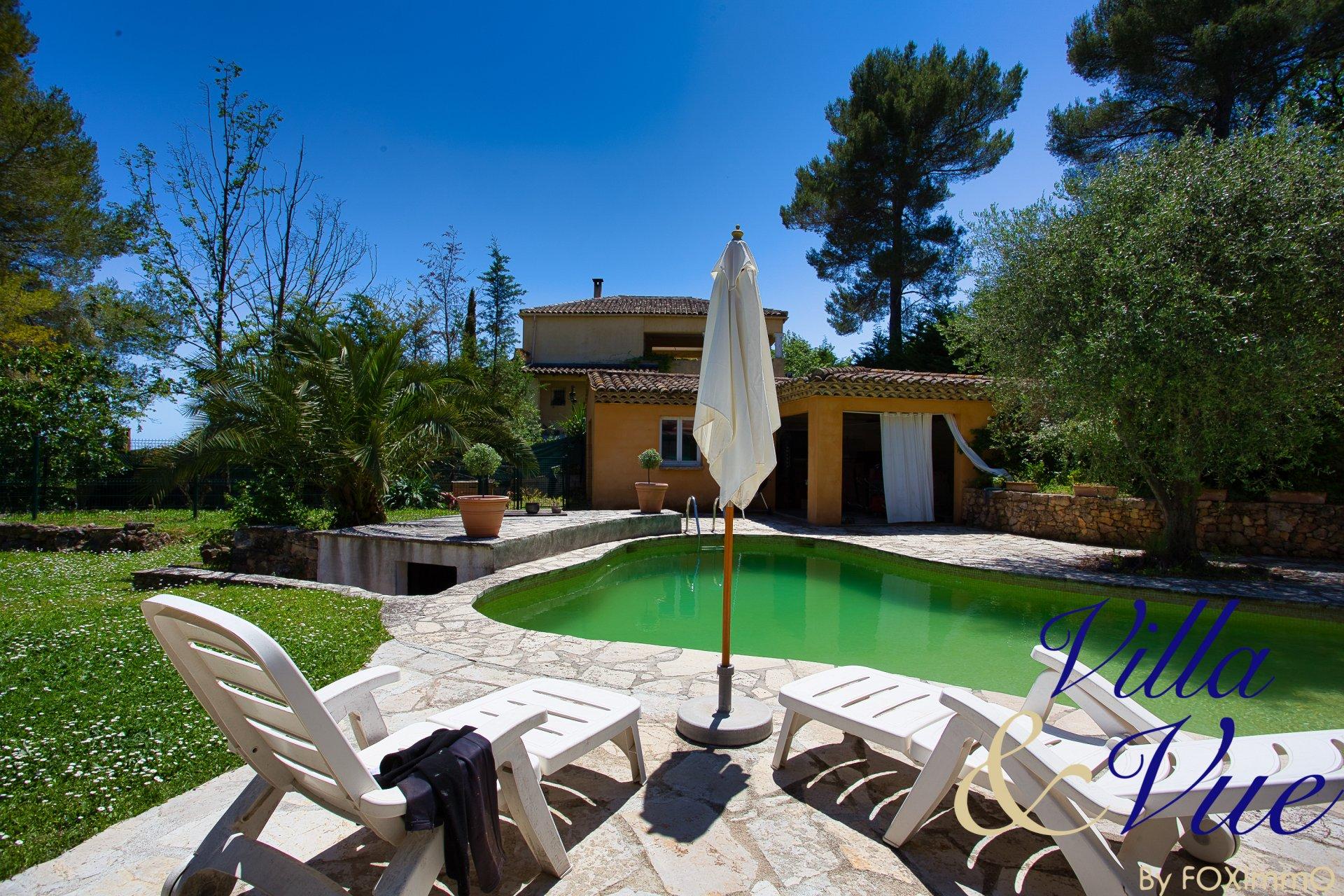 Villa VALBONNE - Proche Sophia Antipolis - 6 P - 234 m²