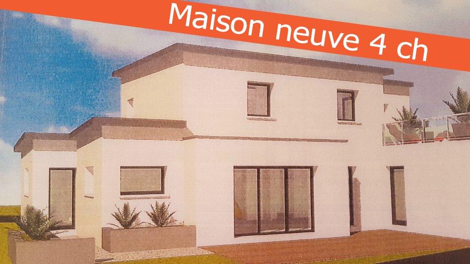 Brest Lambezellec Maison récente de 4 ch excellente construction