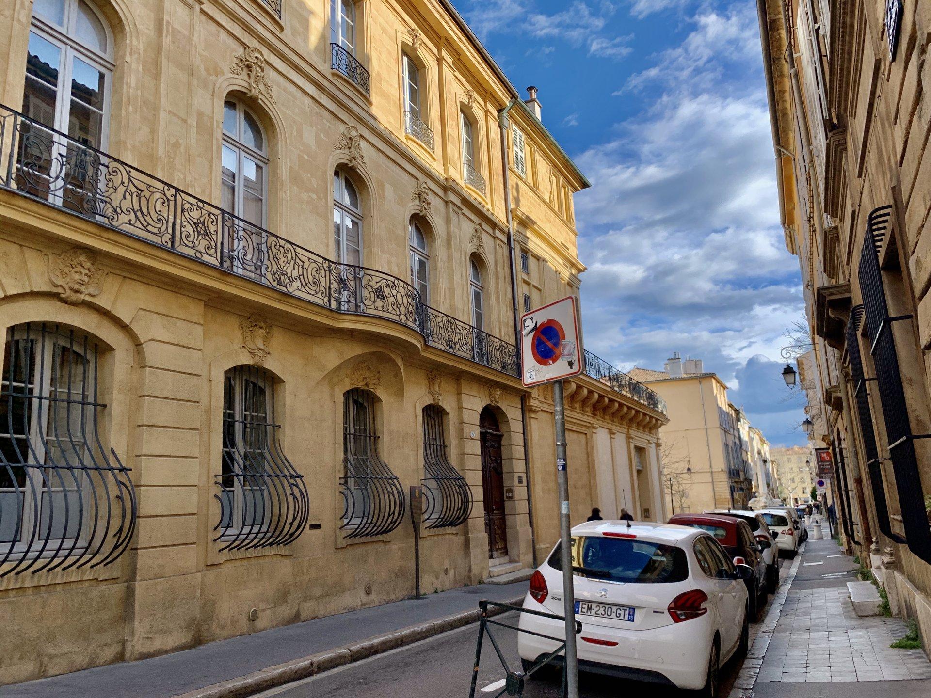 Hotel Particulier / Quartier Mazarin Aix en Provence