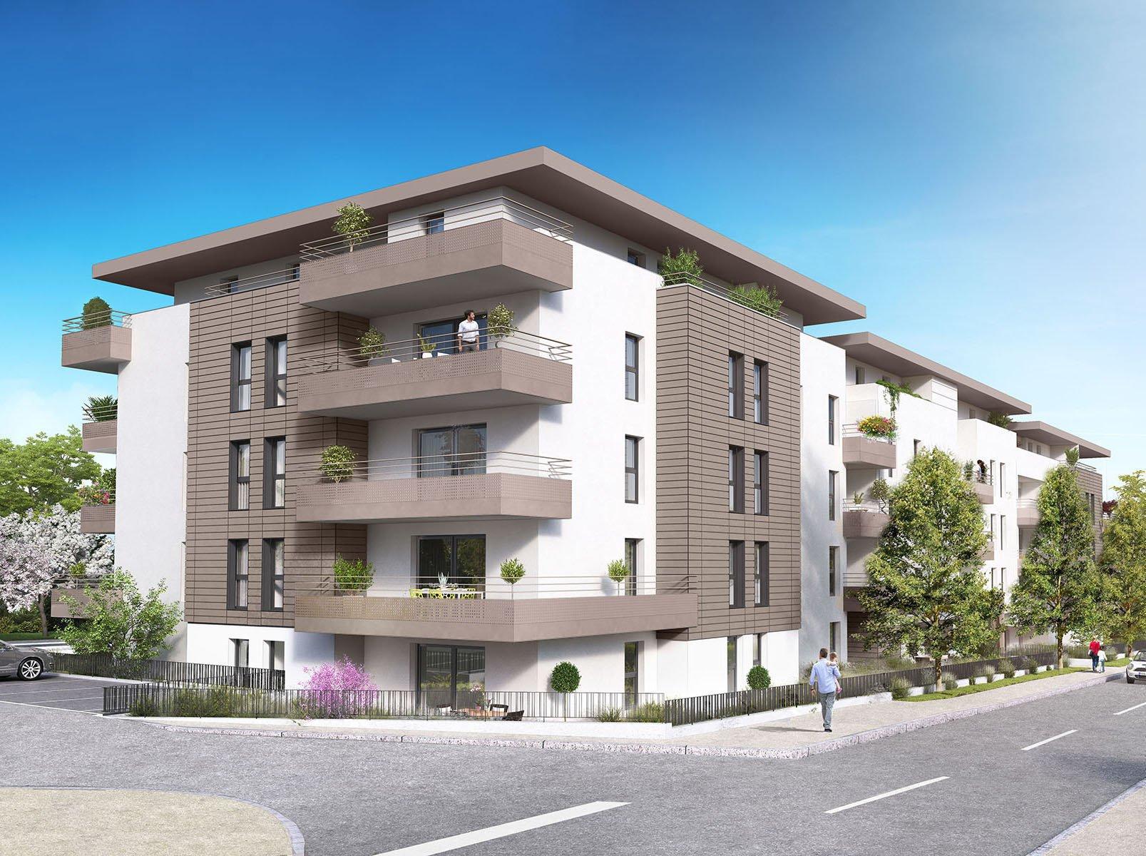 Appartement neuf T4 au centre de La Roche sur Foron