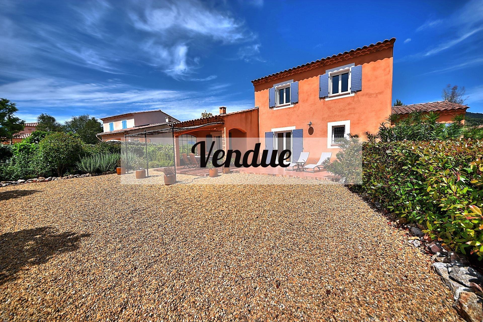 Villa 4 ch dans résidence surveillée, Aups, Var, Verdon