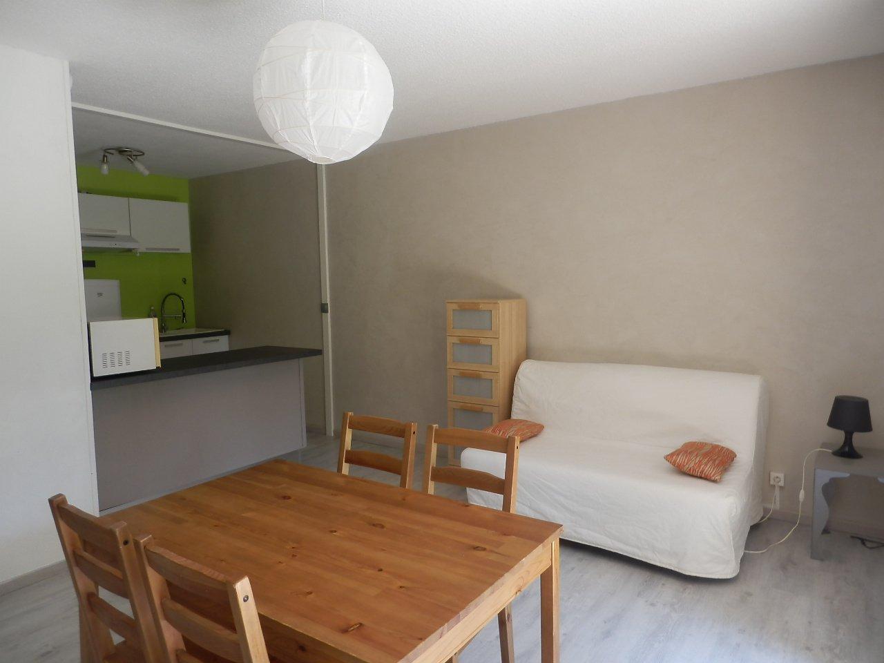 Studio meublé de 40m² avec jardin