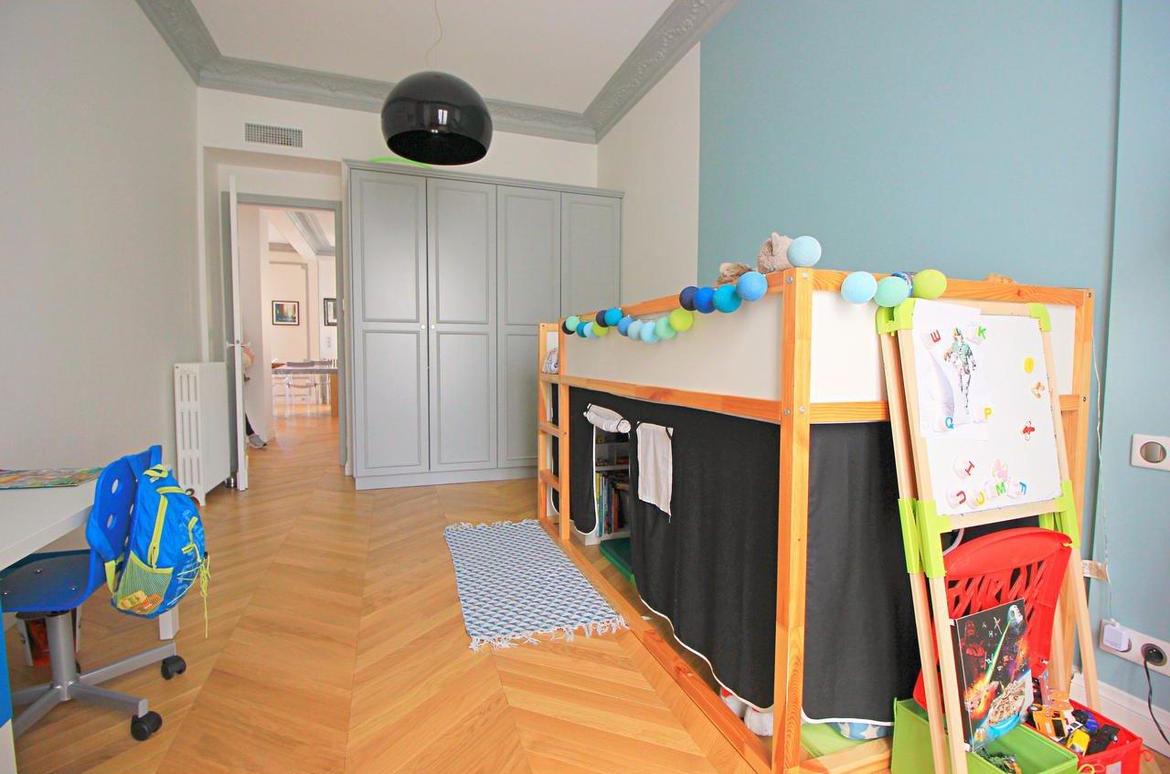 Appartement bourgeois 4P avec balcon - Nice Carré d'Or