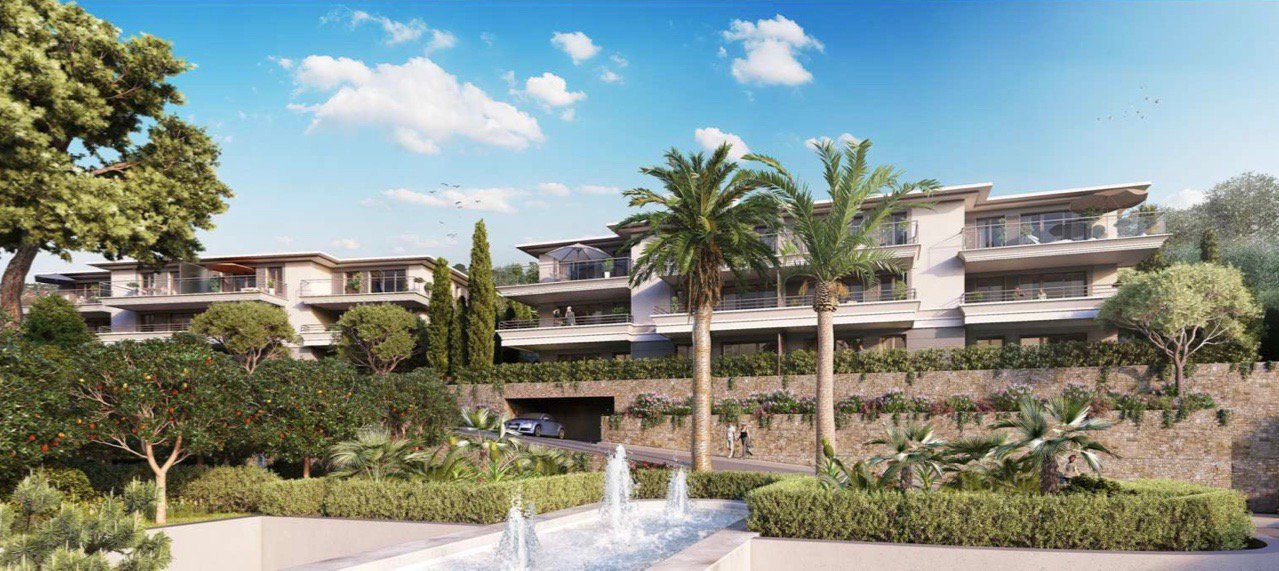 CANNES - French riviera - Private domain - 3 bed luxury Apartment - sea view