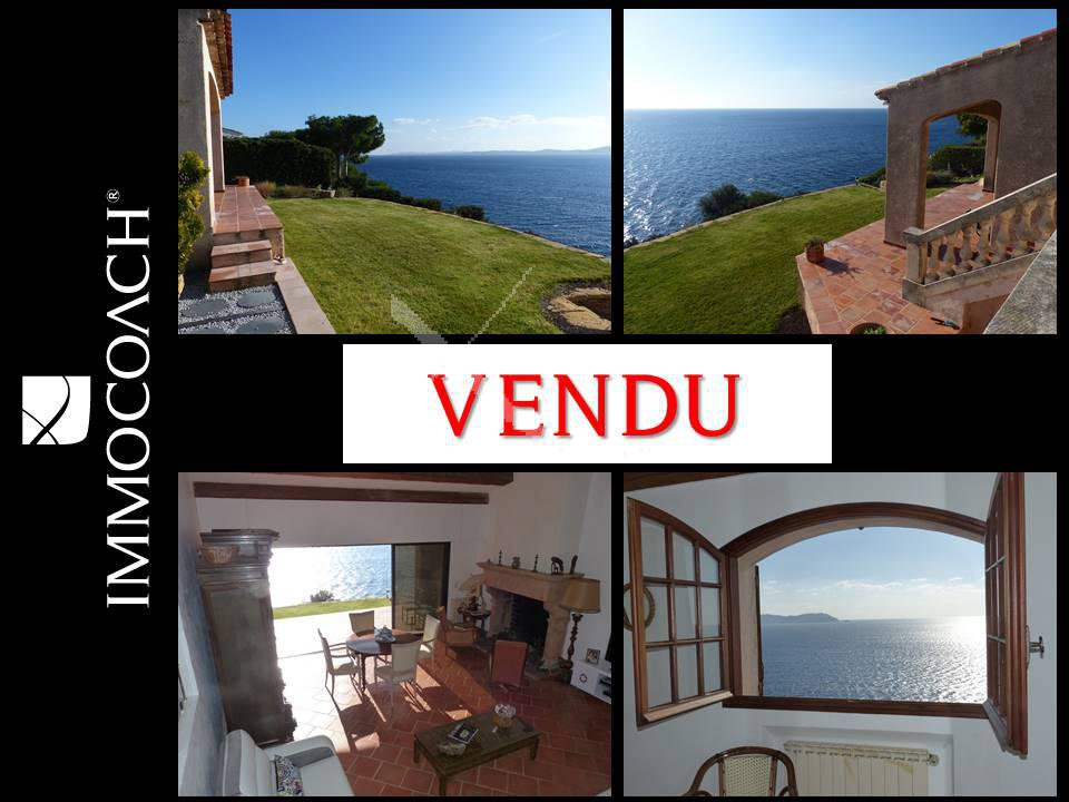 Panoramic sea view, from the islands of Porquerolles to Cape Sicie!