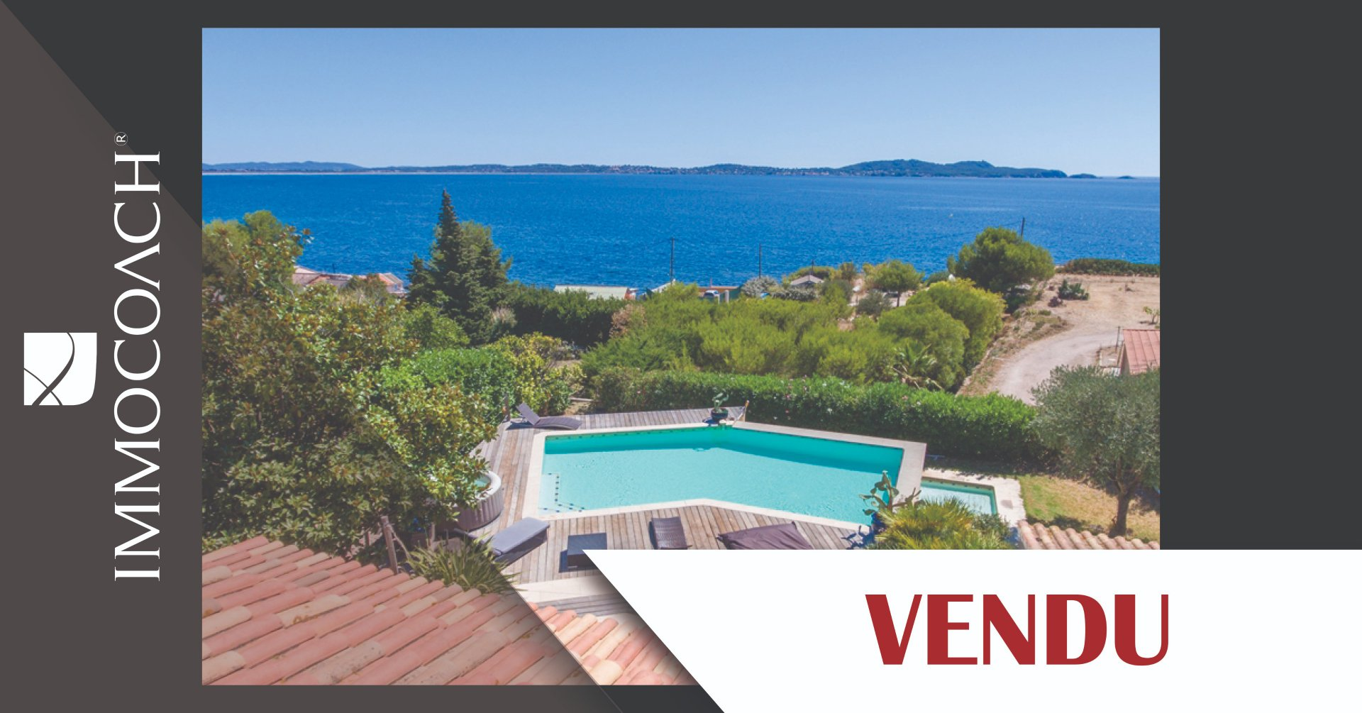 Superb property - 100 metres from the sea - Beautiful seaview