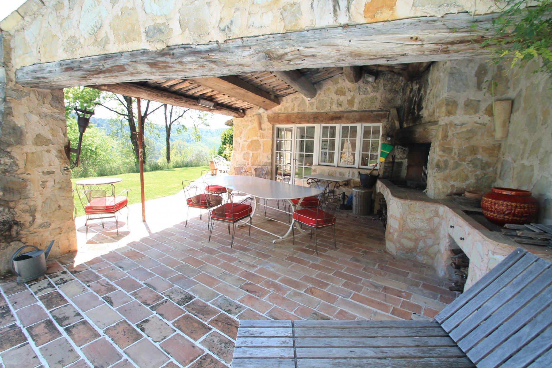 Belle villa en pierre, architect Robert Dallas