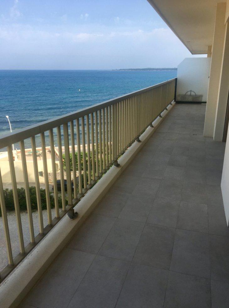 Cannes Palm Beach vue mer 3P 78 m2