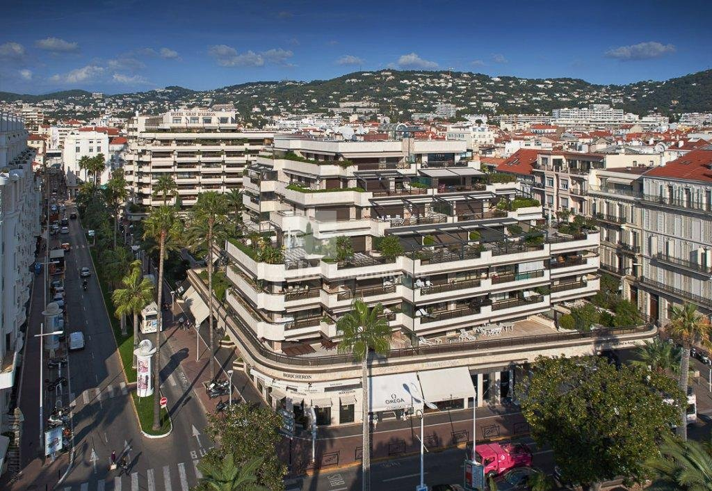 Cannes - Le Gray d'Albion - south facing