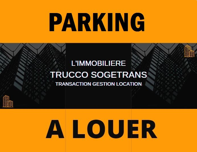 A LOUER - PARKING - CHEMIN DES COMBES - ANTIBES 06600