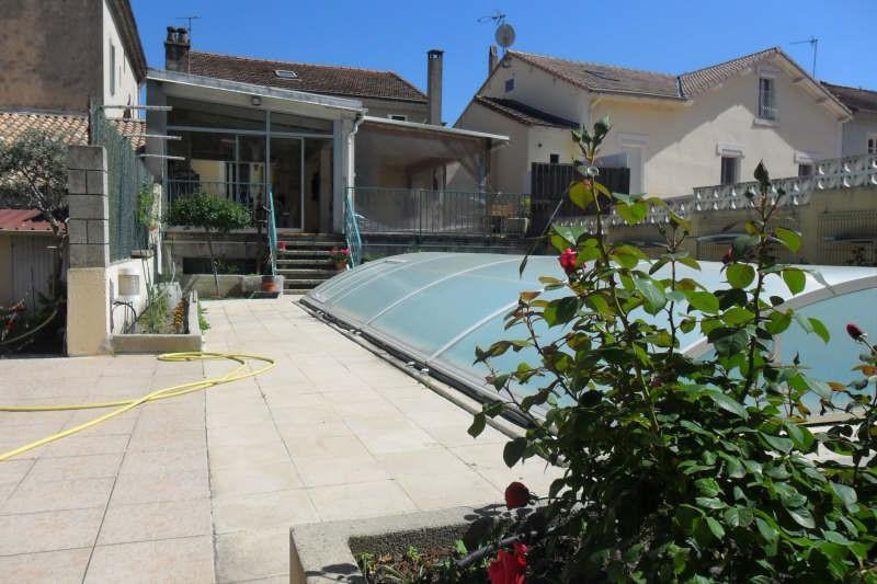 Grande maison avec piscine en centre-ville