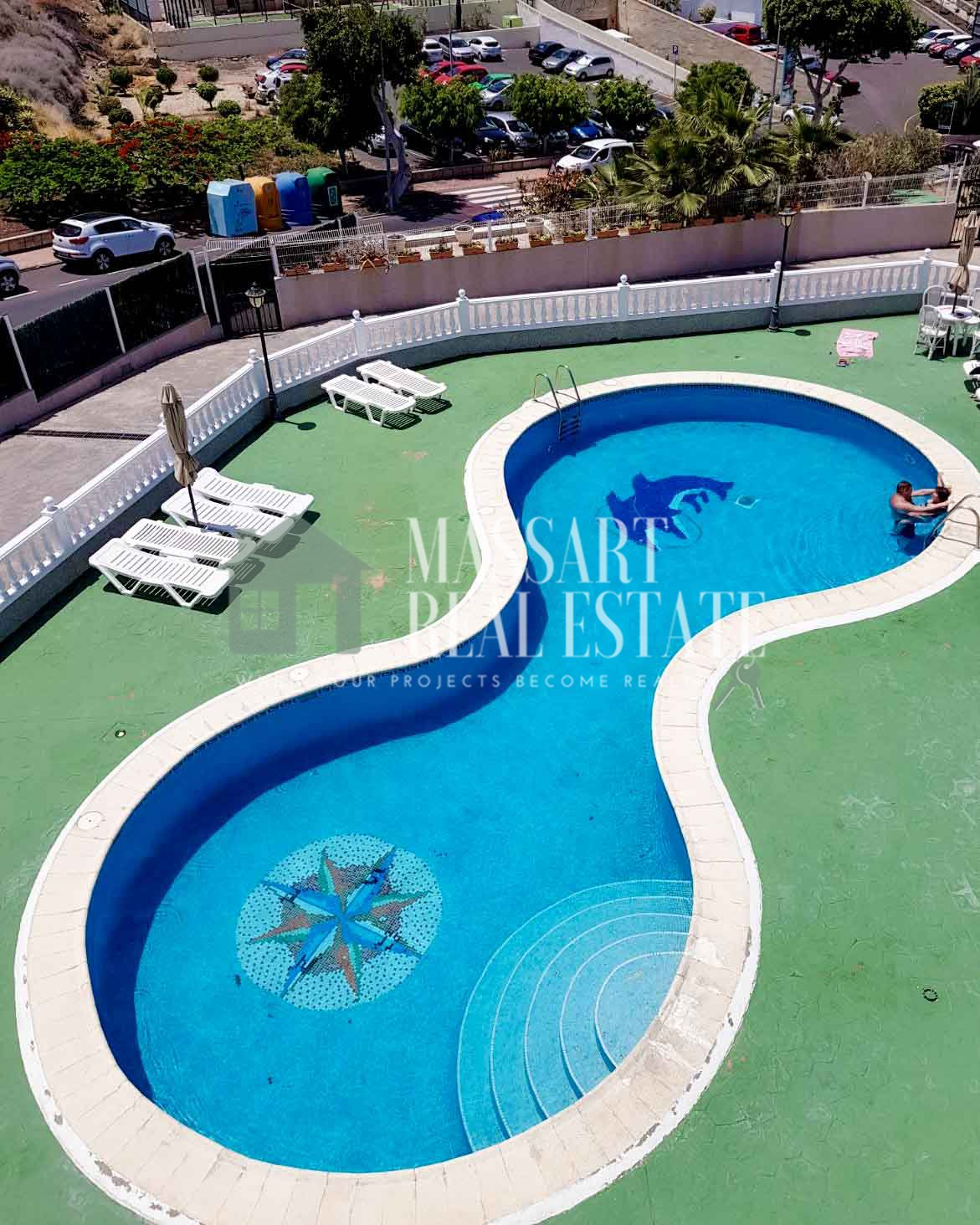 Te huur Appartement in Torviscas Alto 2bd - 950 €