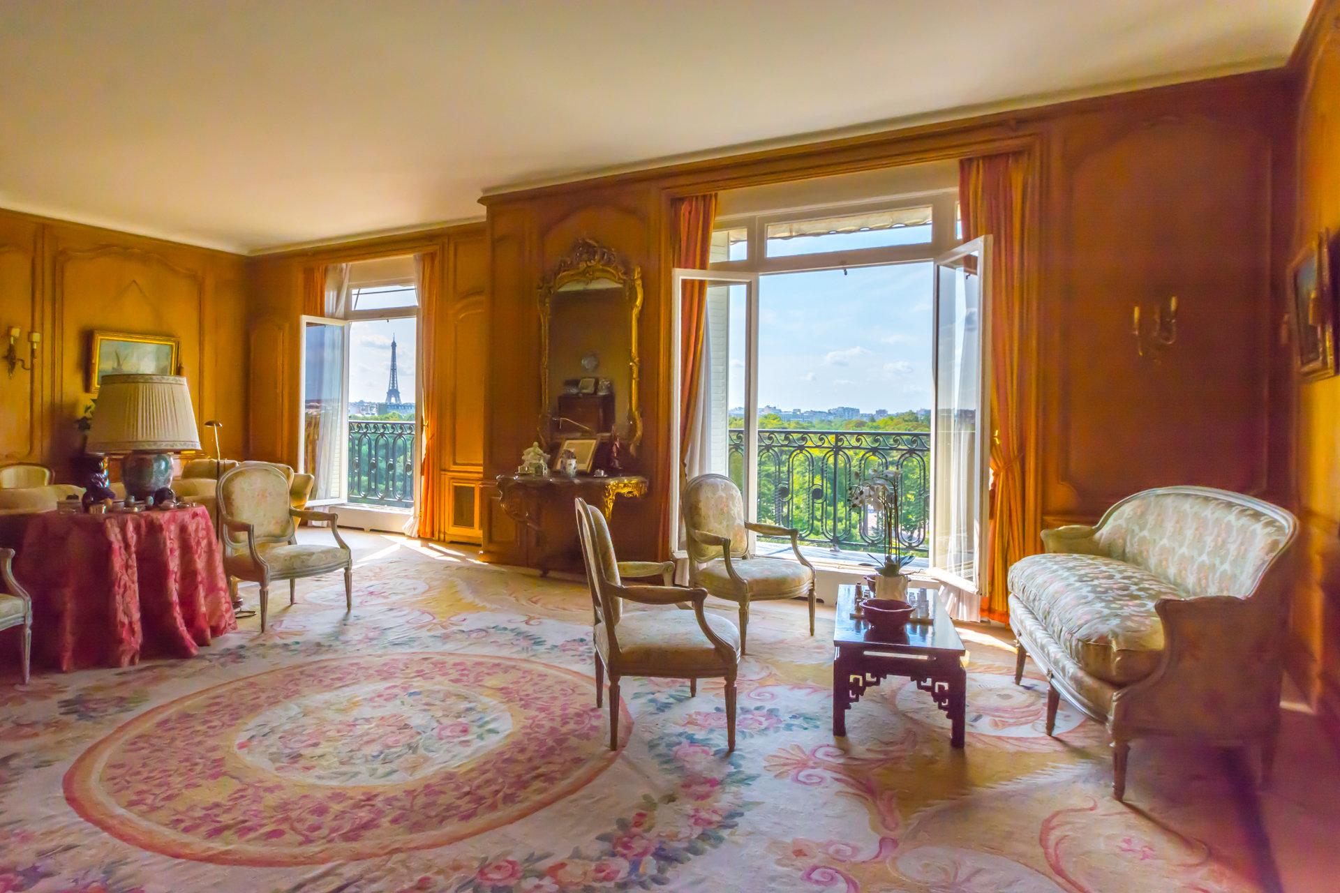 Appartement Neuilly Sur Seine Vue Imprenable Dominant Paris La Tour Eiffel Le Bois de Boulogne