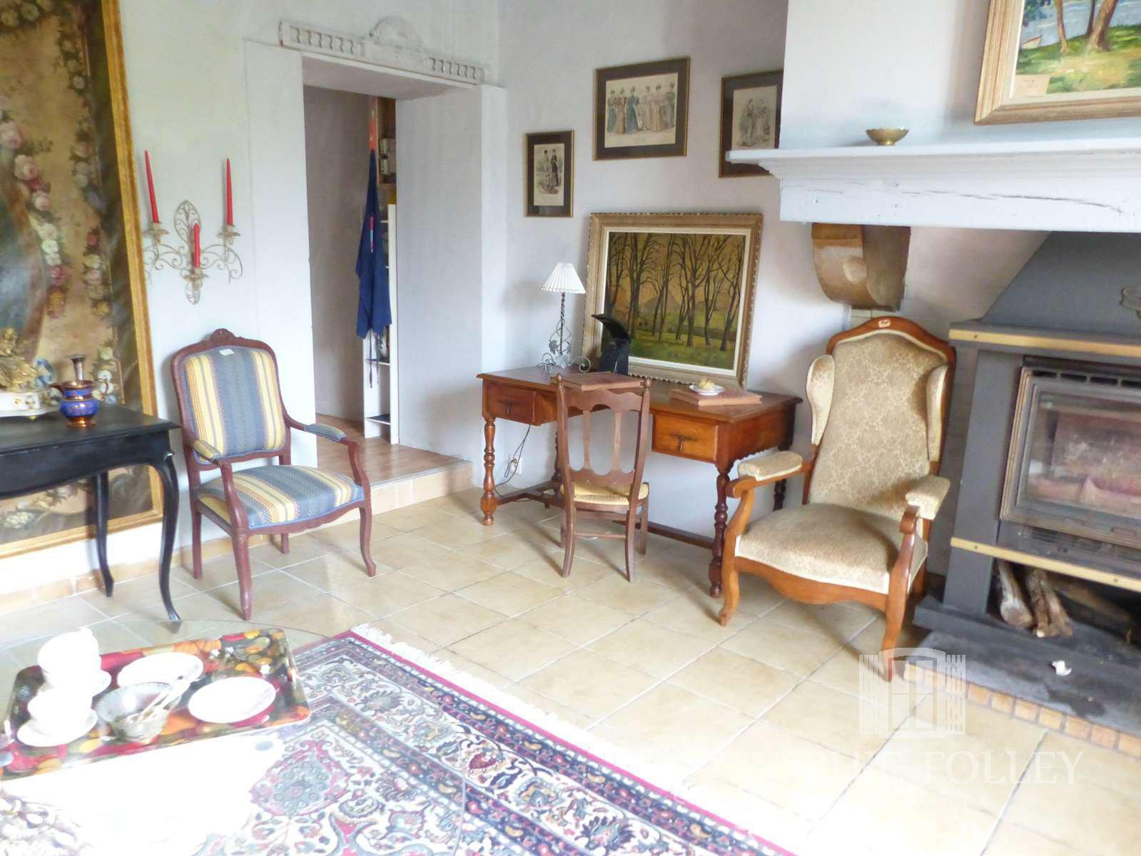 UNDER OFFER - A large elegantly renovated stone house with gîte and swimming pool.