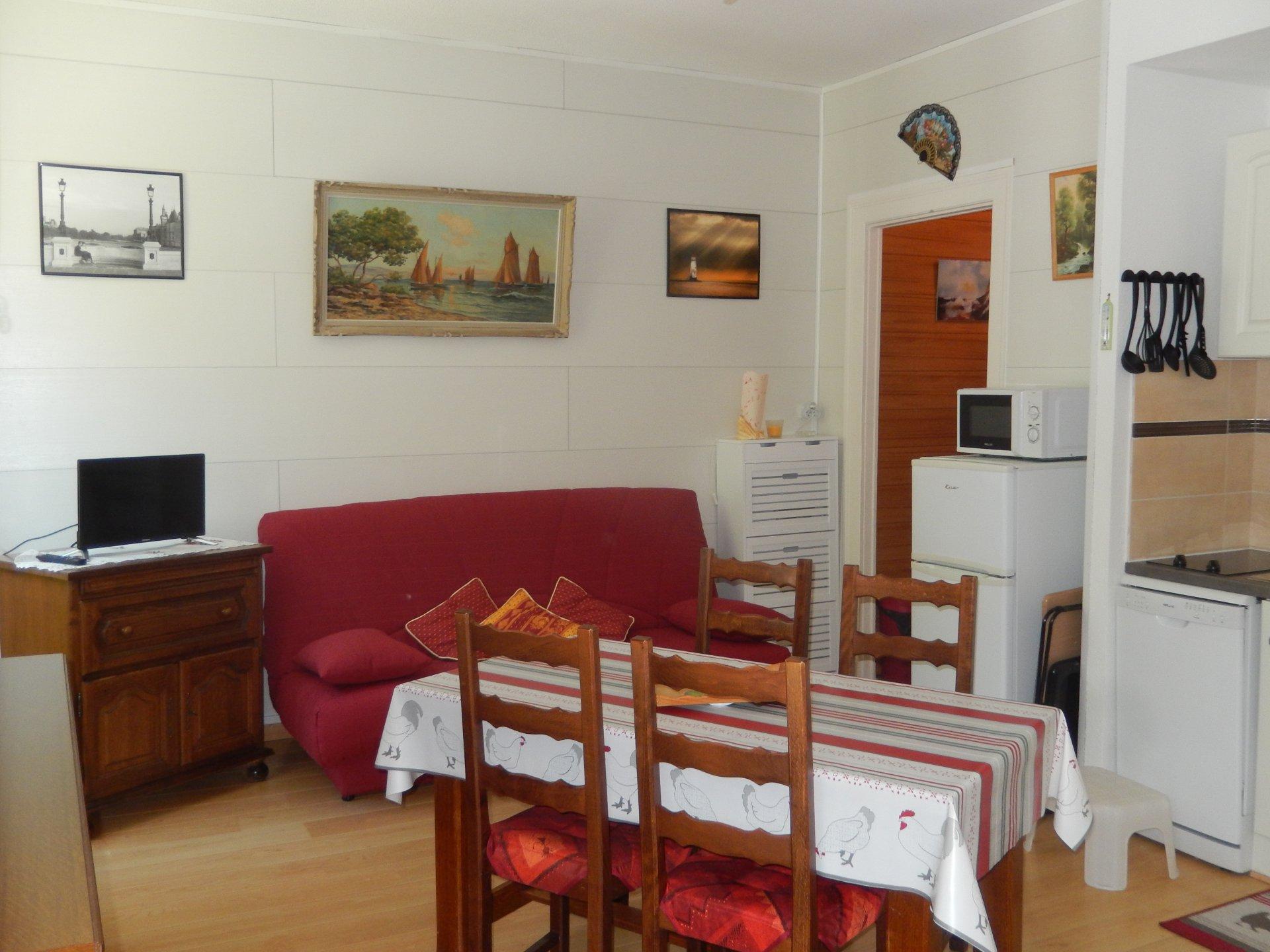 Eaux-Bonnes  studio rénové de 27 m2
