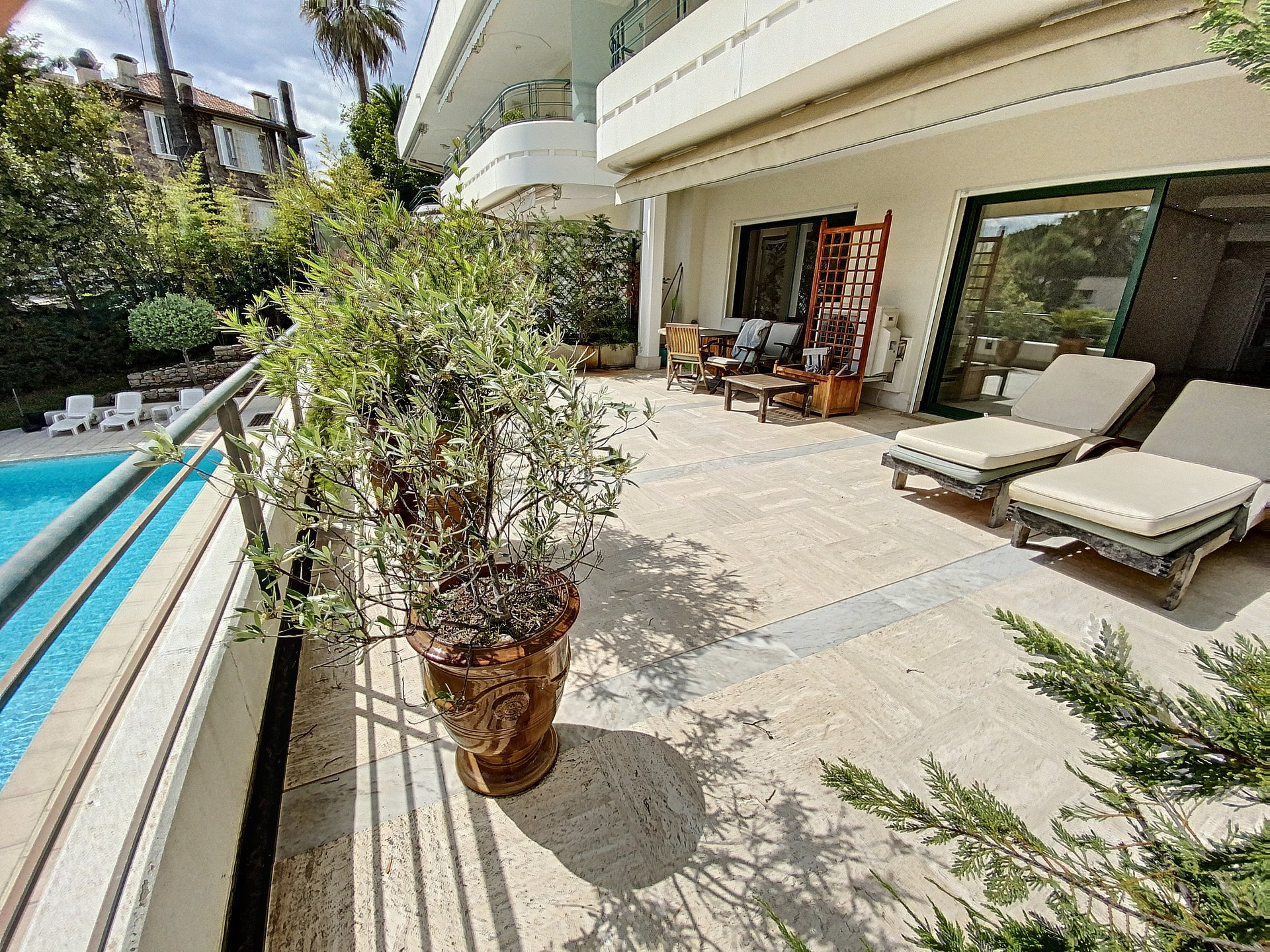 Cannes Californie 3P terrace 50 m2 sea view