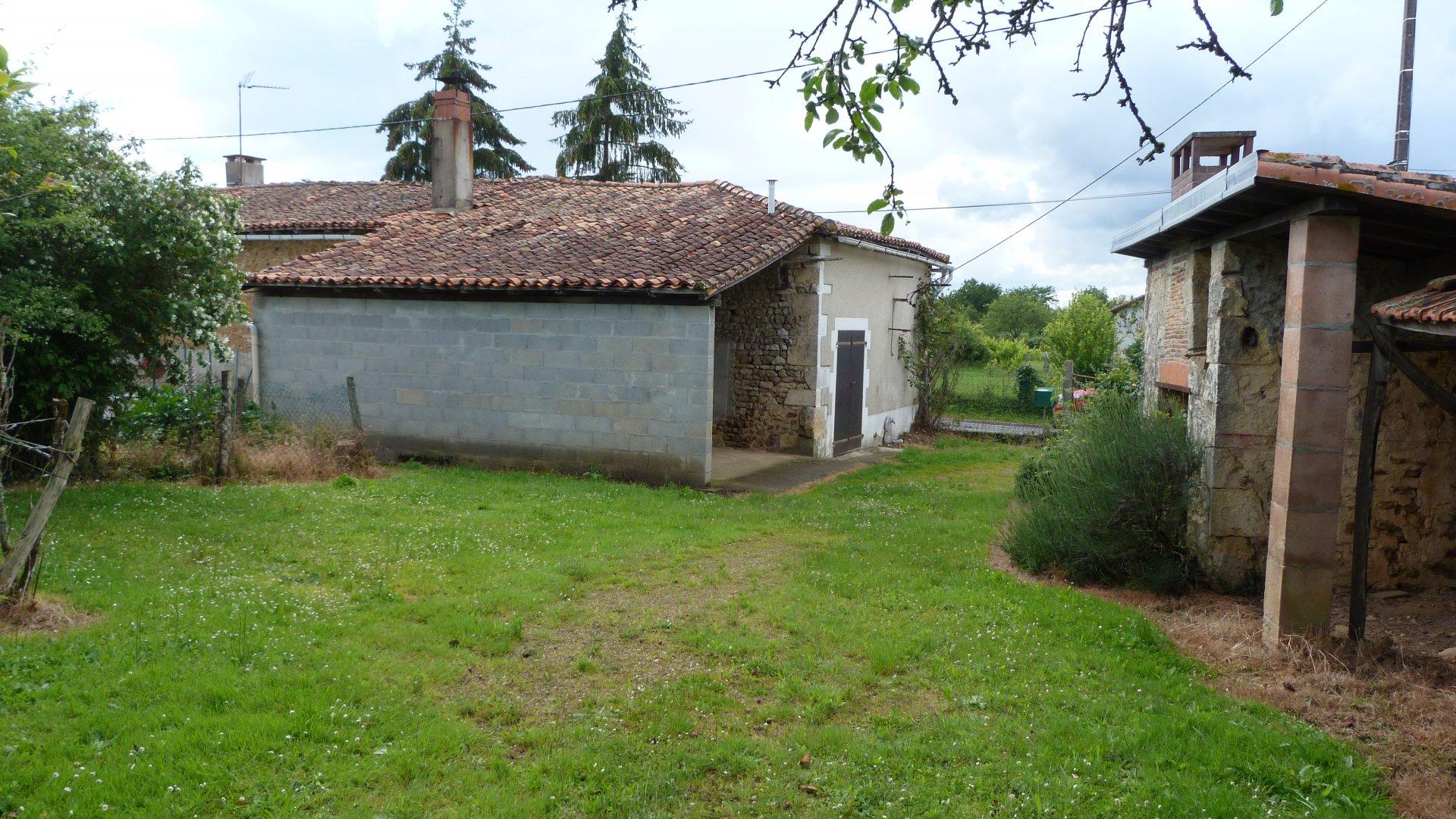 House in a quiet village.