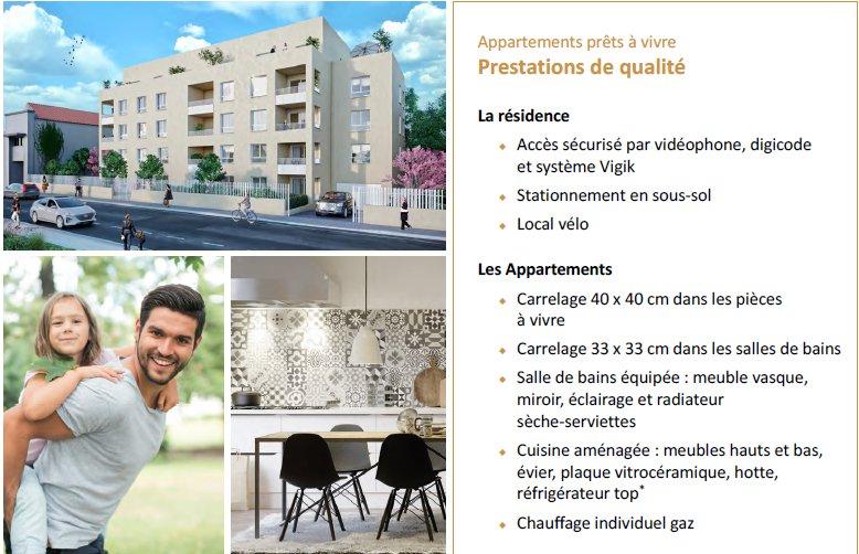 Achat Appartement, Surface de 83.03 m², 4 pièces, Lyon 8ème (69008)