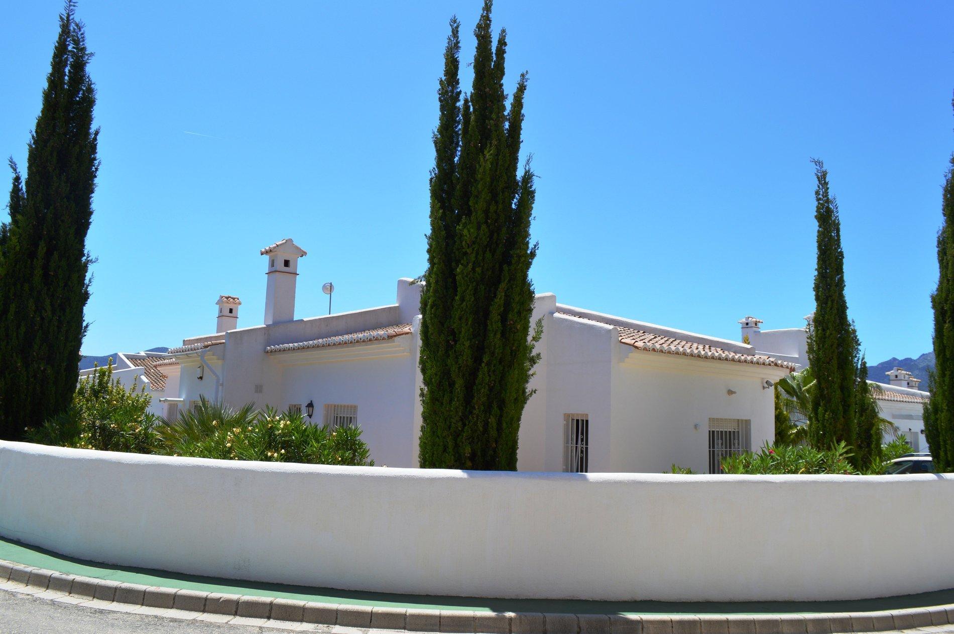 Villa individuelle située sur un terrain d'angle sud