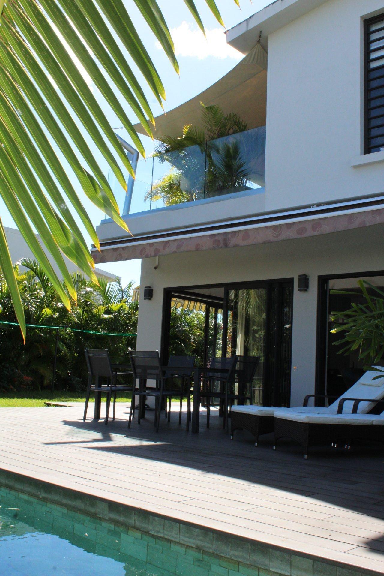 Magnifique villa proche de la plage de Trou aux Biches