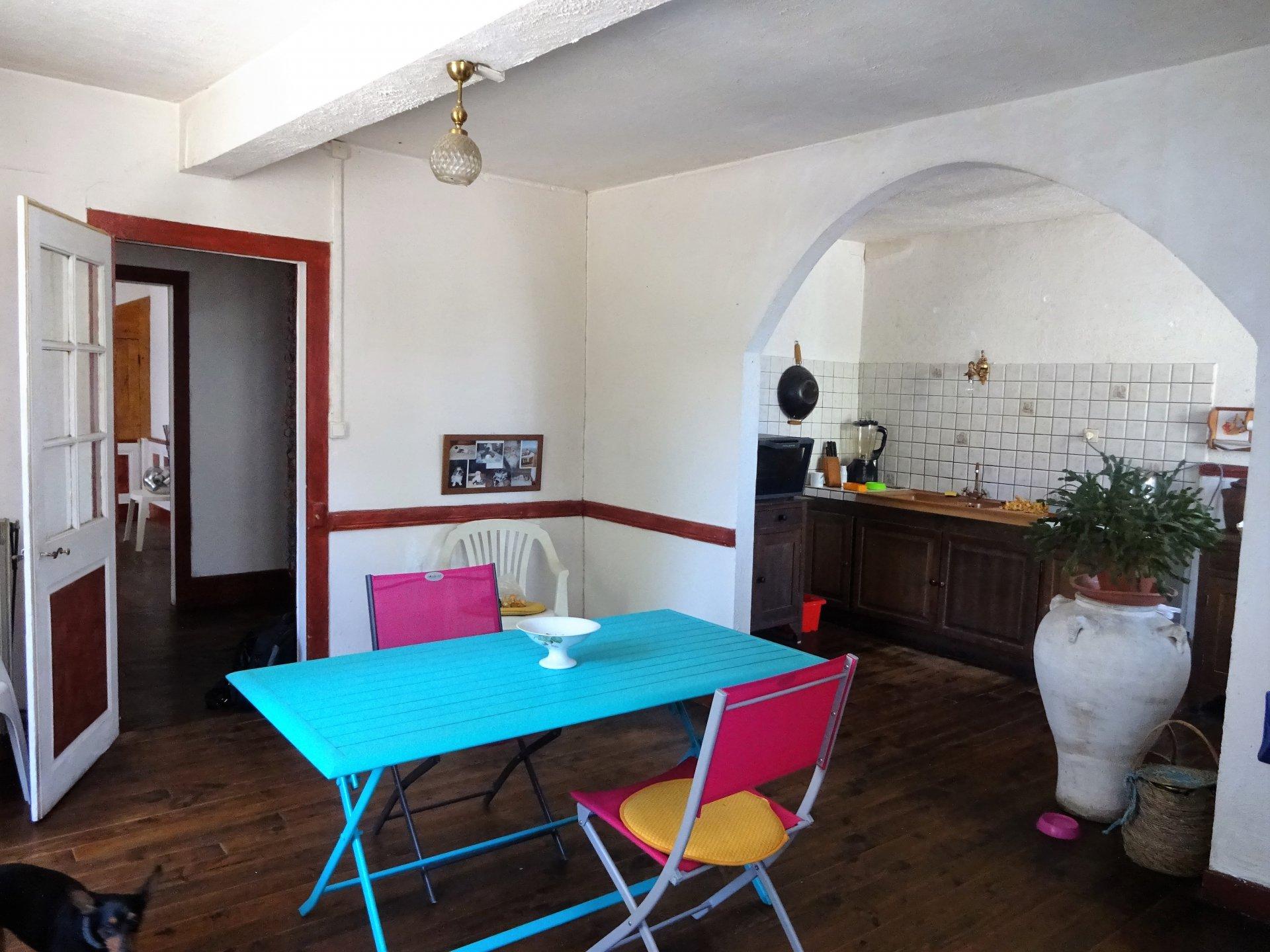 Maison de ville de charme Prat-Bonrepaux
