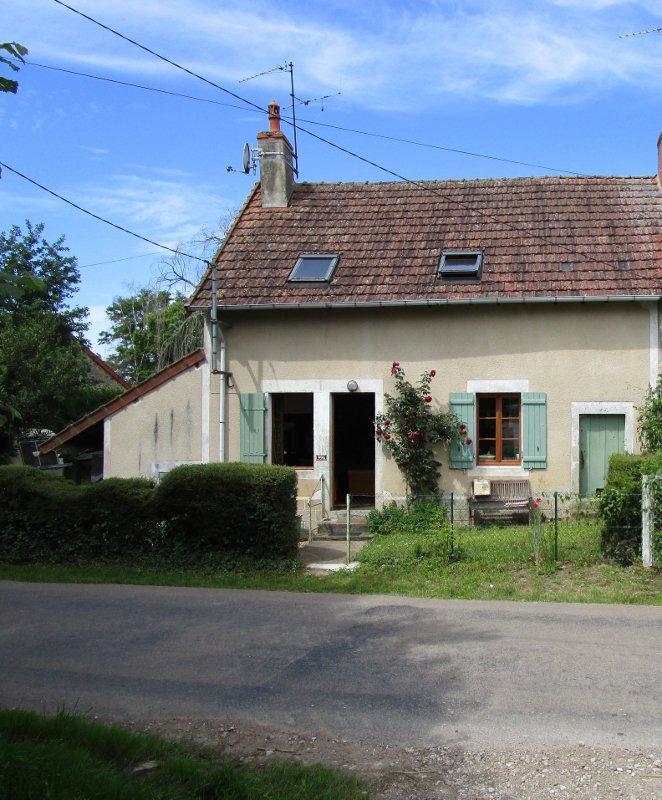 Gezellig  plattelands huis te koop in de Bourgogne