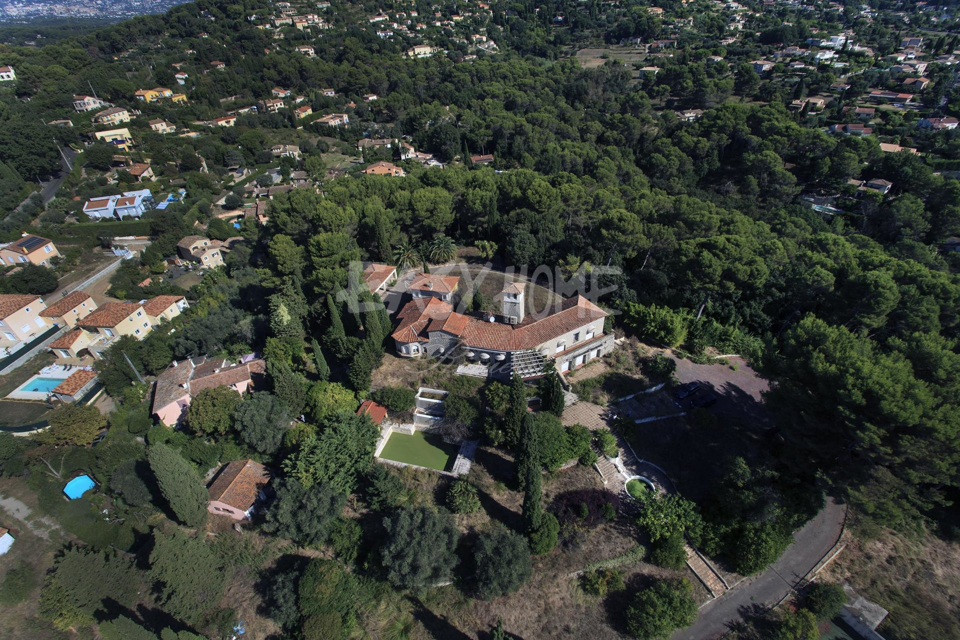 For Sale - Prestigious and unique property in Mougins