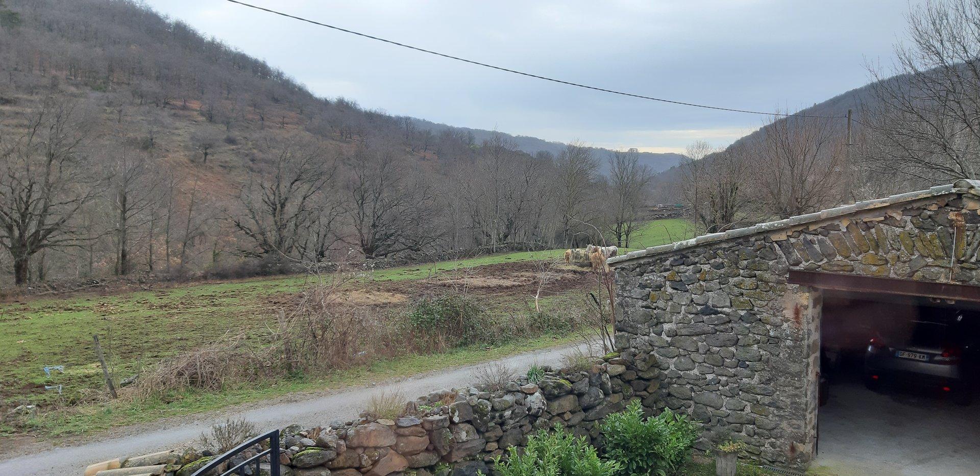 Maison pierre 2500m² terrain plat