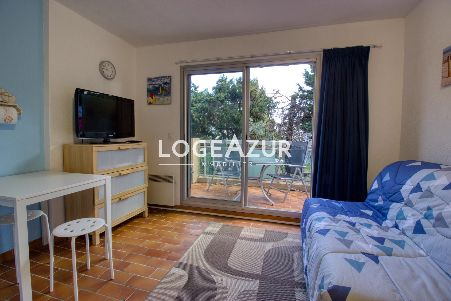Seasonal rental Studio in GOLFE-JUAN