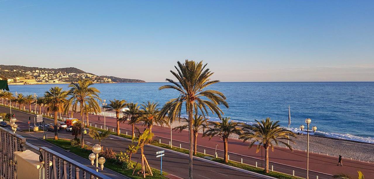 3P avec terrasse et vue mer - Nice Promenade des Anglais