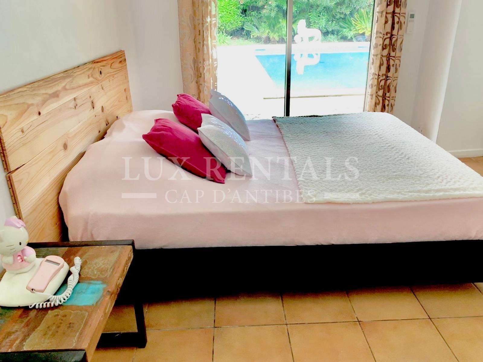 Location saisonnière Villa - Cap d'Antibes